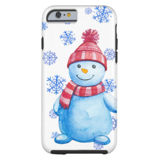 Coque Tough iPhone 6 Bonhomme de neige