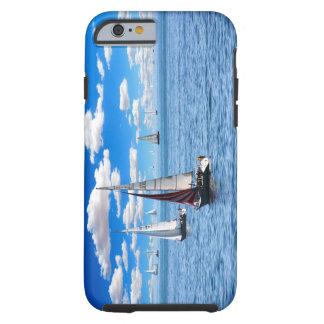 Coque Tough iPhone 6 Cas de l'iPhone 6/6s de bateau à voile