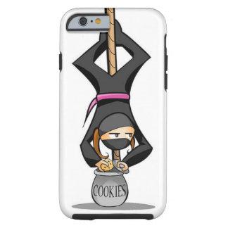 Coque Tough iPhone 6 Cas de téléphone de Ninja pour l'iPhone 6/6s