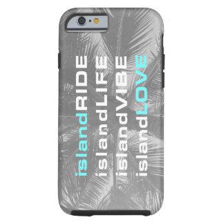 Coque Tough iPhone 6 Cas de téléphone portable de Vibe d'île