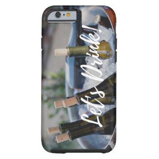 Coque Tough iPhone 6 Cas de téléphone pour des amateurs de vin
