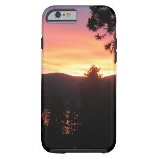 Coque Tough iPhone 6 cas dur de coucher du soleil de l'iPhone 6