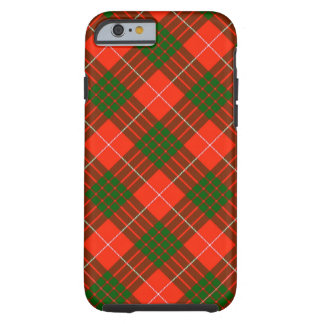 Coque Tough iPhone 6 Cas dur de l'iPhone 6/6S de tartan de Crawford
