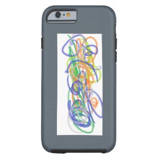 Coque Tough iPhone 6 Cas en spirale de téléphone d'imaginaire