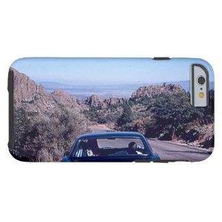 Coque Tough iPhone 6 Cas vintage de désert de voiture pour Iphone 6