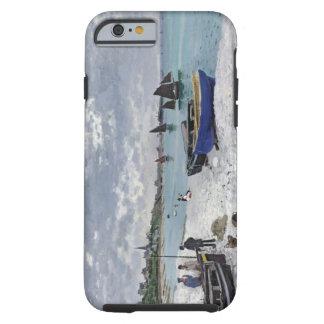 Coque Tough iPhone 6 Claude Monet | la plage chez Sainte-Adresse
