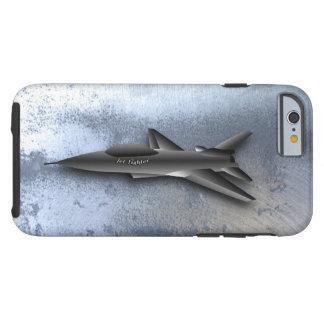 Coque Tough iPhone 6 Conception supersonique de Jet-Combattant de
