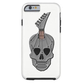 Coque Tough iPhone 6 Crâne de guitare