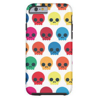 Coque Tough iPhone 6 Crânes de partie