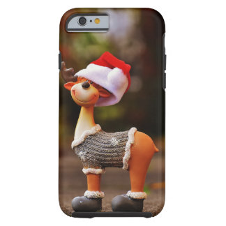 Coque Tough iPhone 6 Décorations de renne - renne de Noël