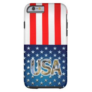 Coque Tough iPhone 6 Drapeau des Etats-Unis