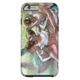 Coque Tough iPhone 6 Edgar Degas | quatre ballerines sur l'étape