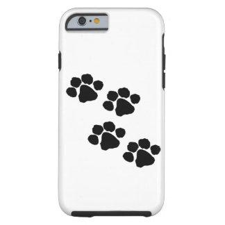 Coque Tough iPhone 6 Empreintes de pattes animaux