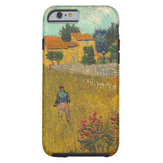 Coque Tough iPhone 6 Ferme de Vincent van Gogh | en Provence, 1888