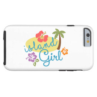 Coque Tough iPhone 6 Fille d'île