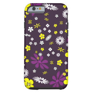 Coque Tough iPhone 6 Floral coloré mignon