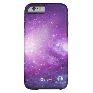 Coque Tough iPhone 6 Galaxie pourpre