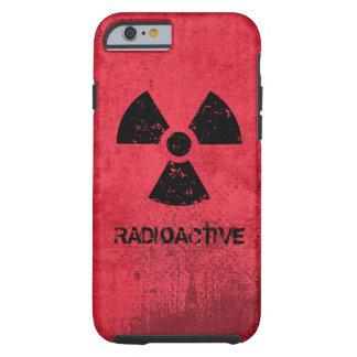 Coque Tough iPhone 6 Grunge radioactive de Choisi-UN-Couleur