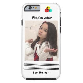 Coque Tough iPhone 6 Joker de taille de pinte : Le père noël travaille