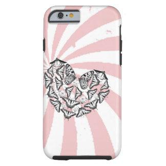 Coque Tough iPhone 6 L'amour conquiert l'iPhone 6/6s, cas dur de haine