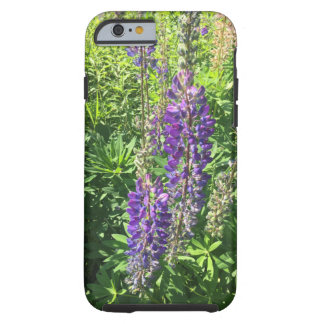 Coque Tough iPhone 6 Les Lupines de Mary à la ferme - fermes de colline