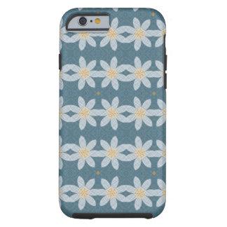 Coque Tough iPhone 6 Motif de fleur blanche