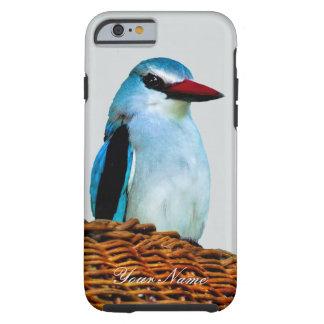 Coque Tough iPhone 6 Oiseaux Afrique du Sud de martin-pêcheur