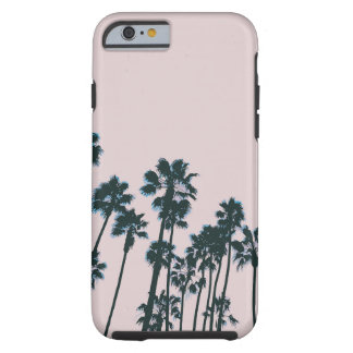 Coque Tough iPhone 6 Paumes roses