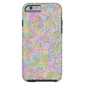 Coque Tough iPhone 6 Petites lignes colorées