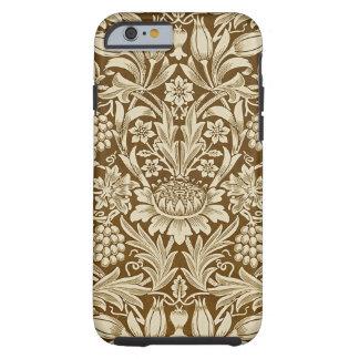 Coque Tough iPhone 6 Pliez et mettez en place la caisse dure bronzage