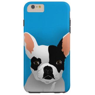 Coque Tough iPhone 6 Plus Art de bouledogue - bouledogue français
