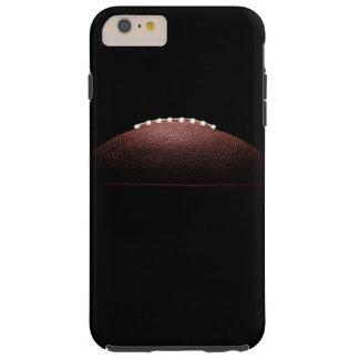 Coque Tough iPhone 6 Plus Boule de football américain sur l'arrière - plan