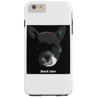 Coque Tough iPhone 6 Plus bouledogues français fun
