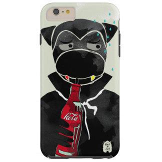 Coque Tough iPhone 6 Plus Cas de téléphone de vampire de singe