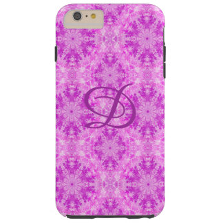 Coque Tough iPhone 6 Plus Cas de téléphone modelé par rose abstrait