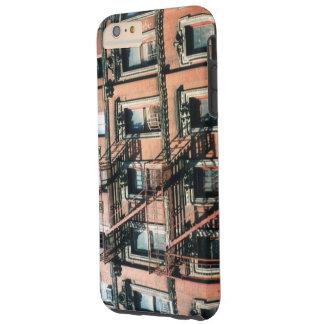 Coque Tough iPhone 6 Plus Cas du téléphone 5 de bâtiment d'appartement