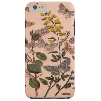Coque Tough iPhone 6 Plus Fleurs sauvages floraux botaniques vintages