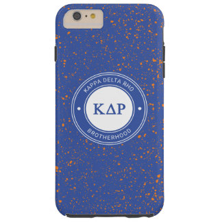 Coque Tough iPhone 6 Plus Insigne du Rho | de delta de Kappa