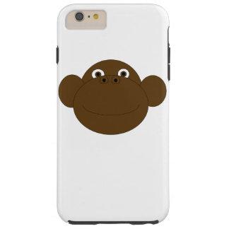 Coque Tough iPhone 6 Plus iPhone 6/6s de visage de singe plus, dur
