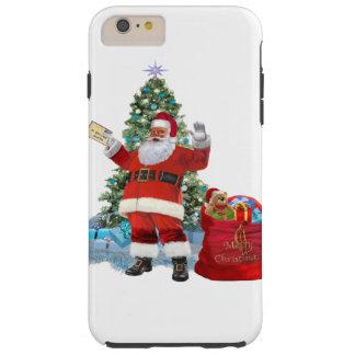 Coque Tough iPhone 6 Plus Joyeux Noël de Père Noël