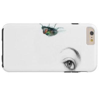 Coque Tough iPhone 6 Plus oeil avec le cas de téléphone de mouche