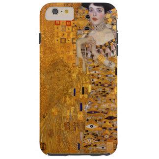 Coque Tough iPhone 6 Plus Portrait de Gustav Klimt de cru d'Adele GalleryHD