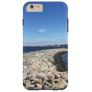 Coque Tough iPhone 6 Plus Rockport, formation de roche de littoral de mA