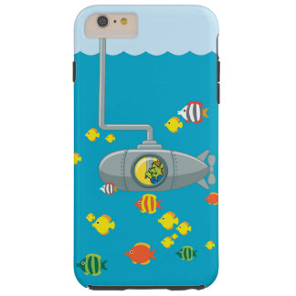 Coque Tough iPhone 6 Plus Sous-marin de piaulement Tom (iphone)