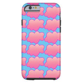 Coque Tough iPhone 6 Rose pelucheux
