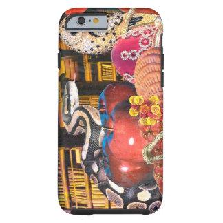 Coque Tough iPhone 6 Serpent de hibou de collage de tentation