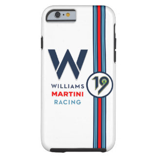 Coque Tough iPhone 6 Williams Martini Racing F.Massa Iphone 6/6S le cas