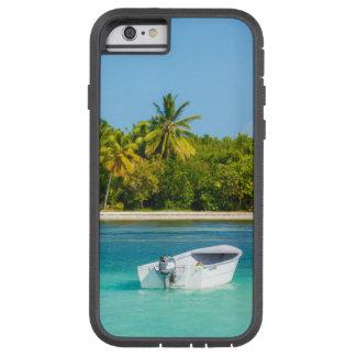 Coque Tough Xtreme iPhone 6 Bateau de pêche tropical de côte dans l'eau de