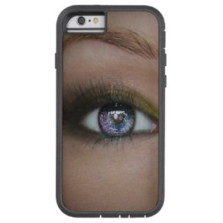 Coque Tough Xtreme iPhone 6 Beau cas de scintillement d'Iphone 6/6s d'yeux