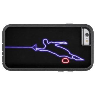 Coque Tough Xtreme iPhone 6 Cas de l'iPhone 6 de skieur de l'eau de slalom
